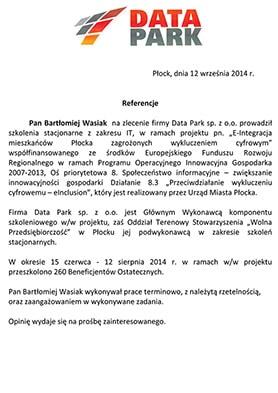 Referencja Data-Park